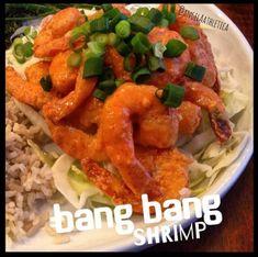 Ripped Recipes - Clean Bang Bang Shrimp - A healthy version of bang bang shrimp without the mayo and frier.