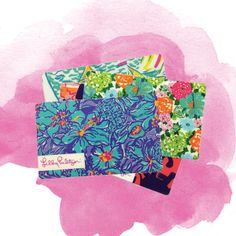 Lilly Pulitzer Printed Gift Cards- keep on dreaming