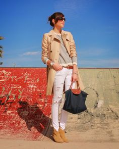 BeTrench: Trench + Rayas Marineras + Le Pliage