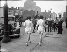En 1937, estas fueron las primeras lesbianas en pasear en las calles de Toronto tomadas de las manos