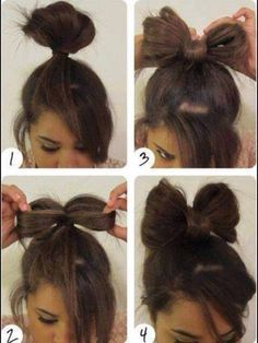 Cute Step By Step Hair Style