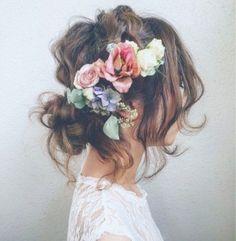 Peinados rizados media melena