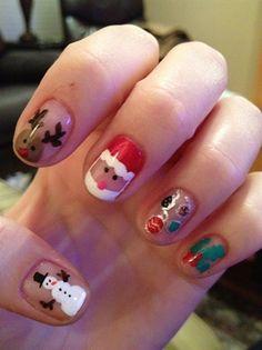 christmas - Nail Art Gallery by NAILS Magazine - Christmas Nail Art