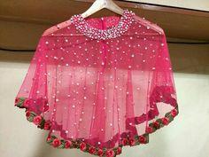 Kids Blouse Designs, Sari Blouse Designs, Kurta Designs Women, Sleeves Designs For Dresses, Dress Neck Designs, Lehnga Dress, Lehenga, Baby Girl Dress Patterns, Stitching Dresses