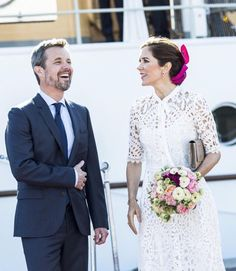 23/05-2018 Crown Prince Frederik and Crown Princess Mary will visit various places in Aarhus today in connection with Prince Frederik's 50th birthday