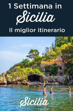 One week in Sicily: Sicily travel itinerary days Sicily Travel, Italy Travel Tips, Budget Travel, Travel Europe, Places To Travel, Places To See, Sicily Italy, Venice Italy, Verona Italy