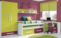 Mobila Dormitor copii 02 Diy For Kids, Bunk Beds, Kids Room, Storage, Modern, Furniture, Home Decor, Gallery, Google