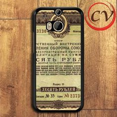 Deposito Vintage Paper HTC One M8 Black Case