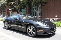 Harry Styles in his new Ferrari California