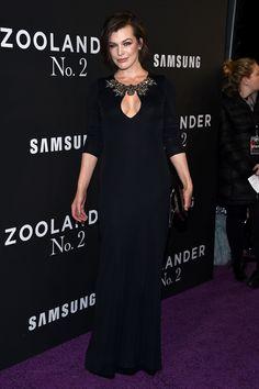 Milla Jovovich à l'avant première de Zoolander 2