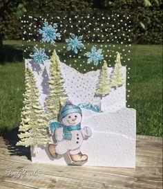 5 Frolicking Frosty Christmas card ideas - Heartfelt Creations