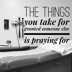 Visit doctor today. Made me think of my mom and some other friends that are dealing with #cancer right now.