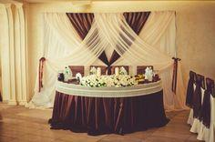 Украшение зала на свадьбу | Свадьбы в коричневых тонах | 674 Фото идеи | Страница 2