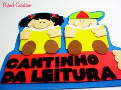 placa de pared estudiantes lectura de la escuela esquina aducacao niño (3)