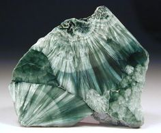 Seraphinite is a beautiful green stone that looks like it may have Angel's wings inside of it. Seraphinite helps connect us with the angelic realm. Seraphinite also promotes regeneration and self-healing. Seraphinite comes from only one place in the world, Siberia.