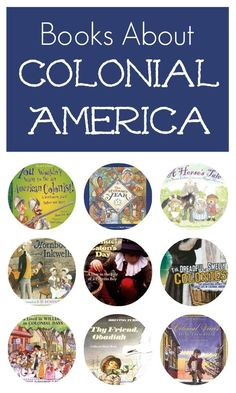 Books About Colonial America-Study about life in colonial America with these nonfiction picture books for kids