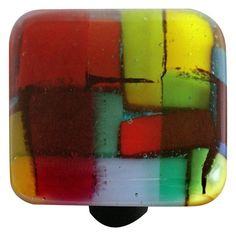 Hot Knobs Mosaic Square Cabinet Knob