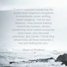 Rowan and Aelin - Queen of Shadows