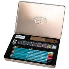 Royal Brush 20-piece Watercolor Pencil Art Set