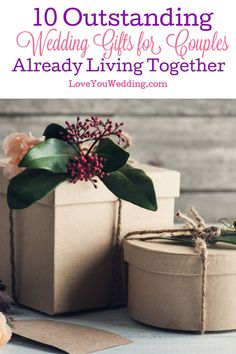It's often hard to find gift ideas for couples already living together, but we think these top picks will really wow them! Take a look! Lesbian Wedding Rings, Wedding Gifts For Couples, Bridesmaids And Groomsmen, Bridesmaid Gifts, Living Together, Wine Charms, Love Gifts, Gift Packaging, Couple Gifts