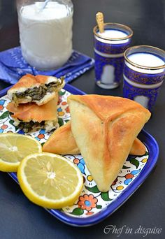 "Fatayer Jebneh ""Cheese pastry"" is one of my most viewed posts up to date. Ever since I posted that recipe, the request I received the most was one for the recipe for Fatayer sabanekh (s…"