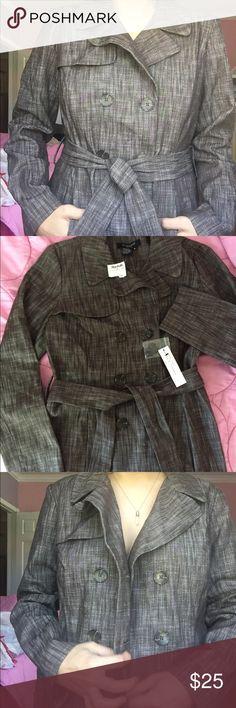 Sandro Brown/Gray Trench Coat Sandro Brown/Gray Trench Coat Sandro Jackets & Coats Trench Coats