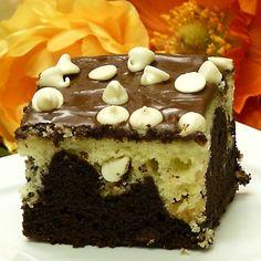 Black & White Chocolate Cake Recipe