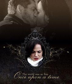 Regina and Robin #outlawqueen #evilregal #OUAT