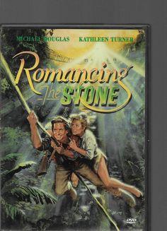 ROMANCING THE STONE DVD - Michael Douglas, Kathleen Turner