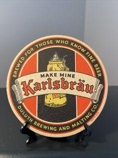 Beer Coasters, How To Make Beer, Juventus Logo, Brewing, History, Ebay, Historia