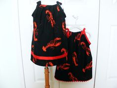 Lobster Feast   Pillowcase Dress