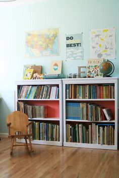 Home Made Lovely- Greta's Home Tour, She has cute vintage and mid century design.