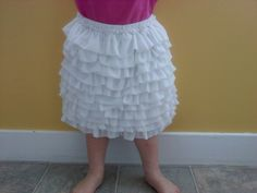 Sew Fantastic: Basic Ruffle Skirt Part 1