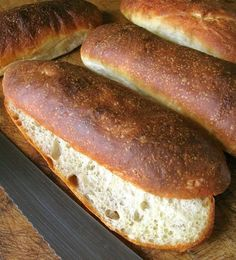 No-Knead Chewy Sandwich Rolls: one good turn deserves another: Blog | King Arthur Flour