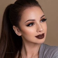 For the best fall makeup, you must start from the basic making your skin appear perfect. You will certainly look beautiful with this kind of a makeup look. Denitslava Makeup, Glam Makeup Look, Fall Makeup Looks, Makeup Tips, Beauty Makeup, Makeup Ideas, Homecoming Makeup, Prom Makeup, Wedding Makeup