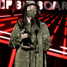 Billie Eilish, Top Billboard, Billboard Music Awards, Fashion Mask, Musical, Fashion Pictures, Concert, Role Models, How To Fall Asleep