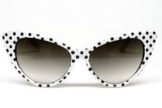 fe524a17128c Cat Eye Vintage Retro Polka Dots Sunglasses Womens white black uv 400    Learn more by visiting the image link.