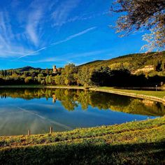 Lupinari Tuscany fishing lake