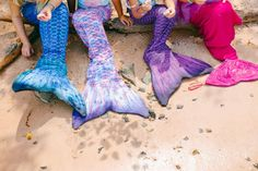 Mermaid tail party f