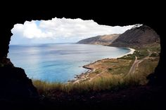 Mermaid Cave Hawaii   Upper Makua Cave, Oahu, Hawaii   Favorite Places & Spaces   Pinterest
