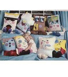 Pillow People. I think I had a friend with some of these when I was about 5, and I was scared of them!