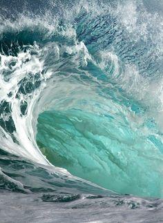 Ocean Spirit :: Ride the Waves :: Salt Water :: Cures Everything :: Free your Wi. Ocean Spirit :: Ride the Waves :: Salt Water :: Cures Everything :: Free your Wild :: See more Untamed Ocean Photogr Sea And Ocean, Ocean Beach, Ocean Waves, Big Waves, Water Waves, Giant Waves, Ocean Sunset, Water Flow, No Wave