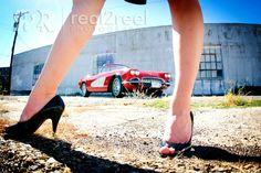 memphis photography vintage car model shoot 2