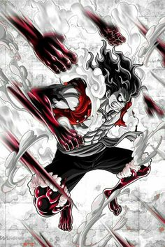 One Piece Manga, One Piece Drawing, Zoro One Piece, One Piece Ace, One Piece Fanart, Luffy Gear Fourth, Luffy Gear 4, Madara Wallpapers, Animes Wallpapers