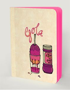 GOLA | Description - London based artist Janine Shroff pays homage to the iconic Kala khatta Gola. Adding zing and colour to the tongues of Bombay since 1934. || #ThisIsArt ● #ArtOfOurTimes ● Own it & #SupportTheArtist Theme - Living in Colour | Artist - Janine Shroff | ₹ 300 | 72 Pink Blank Pages | ☏ (+91) 22 26550982 ||