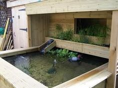 Very cool raised pond with bog filter. Looks like a japanese soaking tub! Jaywickrob raised pond - Practical Fishkeeping Forum