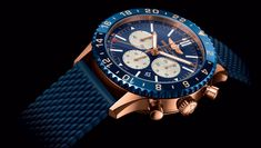 The Breitling Chronomat watches are favored among pilots with a bold aesthetic, robust construction & great performance. Breitling Chronomat, Breitling Chronograph, Breitling Colt, Breitling Watches, Men's Watches, Amazing Watches, Best Watches For Men, Cool Mens Bracelets, Luxury Watches
