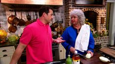 Aunt Peggy's Cucumber, Tomato and Onion Salad Recipe : Paula Deen : Food Network