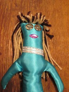 Bridesmaid Doll by tobeesgifts on Etsy, $18.95
