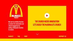 Cazuza: McDonald's dentro da igreja: a solução para a falt...